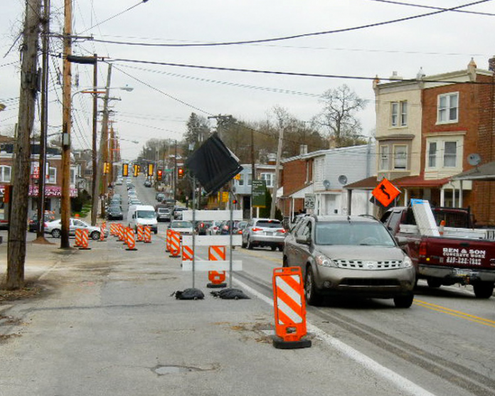 Markley street reconstruction